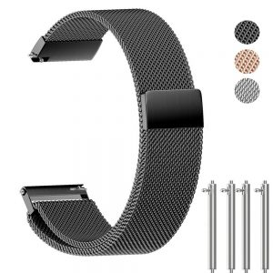 ANMU Milanese Band Replacement Quick Release Stainless Steel