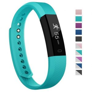 Fitness Tracker, 007plus D115 Concise Style Point Touch Activity