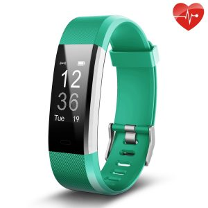 Fitness Tracker, Juboury Slim Heart Rate Smart Bracelet