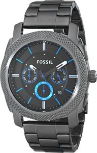 Fossil Machine Chronograph Smoke Stainless Steel