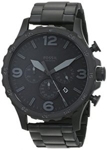 Fossil Men's JR1401 Nate Stainless Steel Watch