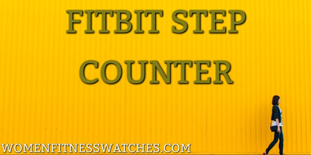 fitbit step counter